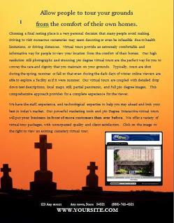 Cemetary Virtual Tours1 Rtv Inc