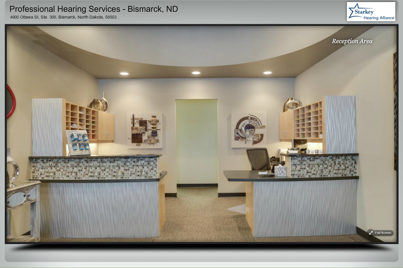 Hearing Center Virtual Tour