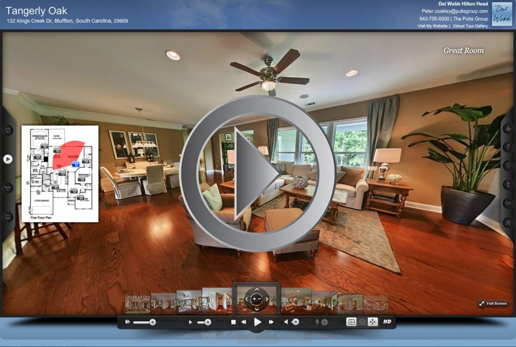 Virtual tour of home rtv inc for Vr for home