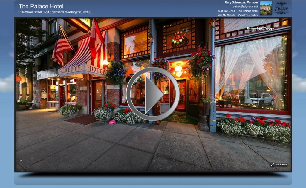 Hotel Virtual Tour Example