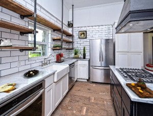 Virtual Staged Kitchen