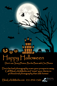Happy Halloween Virtual Tour Post Card