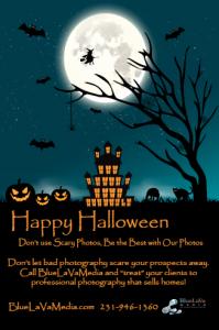 Happy Halloween Virtual Tour Post Card
