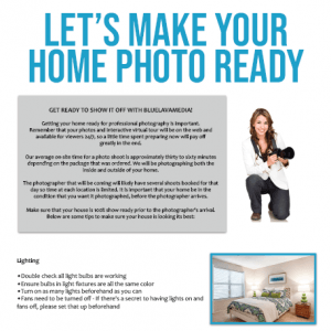 Real Estate Photography Preparation
