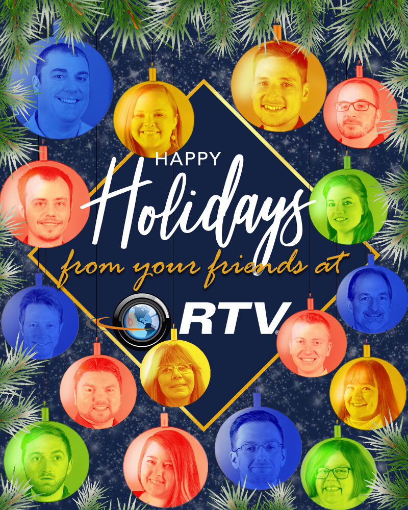 virtual tour software holiday card